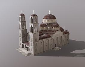 Grand Byzantine Church 3D model
