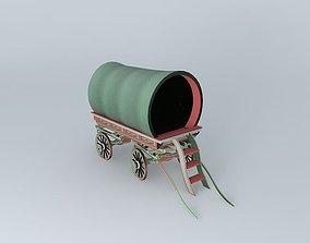 Romany Caravan BowTop Style 3D model