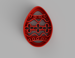 3D print model Easter egg cookie cutter