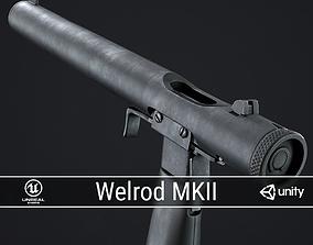 PBR Welrod Mk II 3D asset