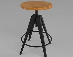 Bar Stools 3D model furniture