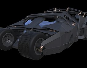 Batman Tumbler Batmobile 3D model
