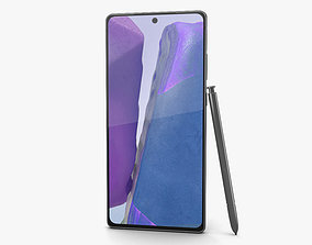 Samsung Galaxy Note20 Mystic Gray 3D