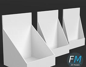 3D model Table top display mockups