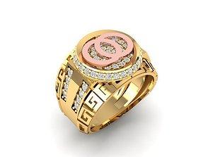 3D print model 1431 luxury diamond ring