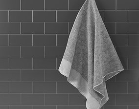 towels hq 3d model with textures