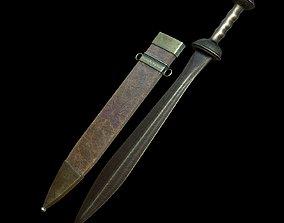 3D model Sword and Sheath