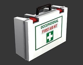 3D model VR / AR ready First Aid Kit