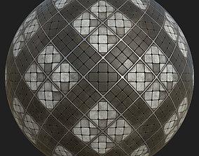 3D model Stylized Marble Tiles Floor