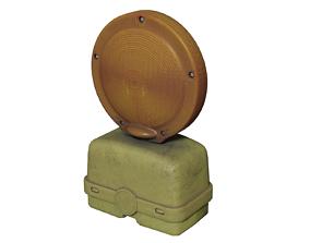 3D model Barricade Flasher