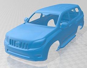 Toyota Land Cruiser Prado Printable Body Car