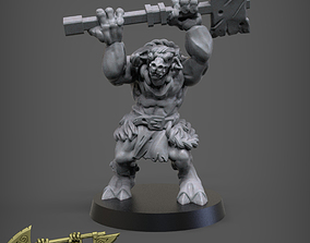 3D printable model Beastman Doublesmasher