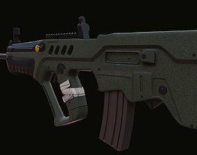 3D asset Tar 21