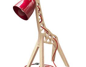 Handmade Kids Giraffe Lamps 3D