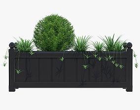 3D model flowerpot 100cm Windsor Extra Large Planter