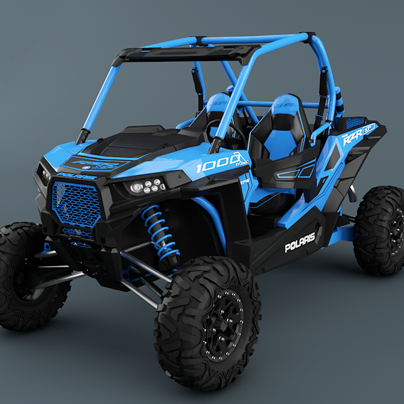 Polaris Ranger RZR 1000 Blue Version