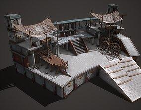 Ancient Shipyard 3D model