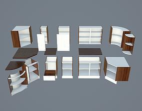 3D model Modular Kitchen Cabinet Kit