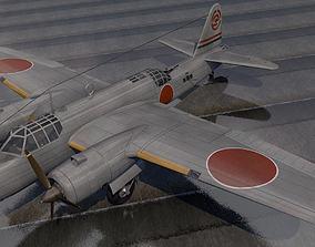 3D Nakajima Ki-49 Donryu - aka Helen