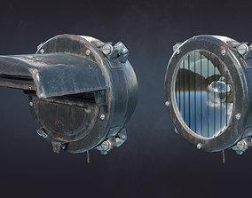 Tank Headlight FG-127 FG-126 FG-125 3D model