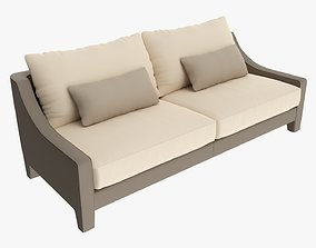 Loveseat sofa 03 3D model