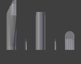 Arctodus Left Arm STL 3D print model