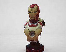 3D model Ironman Head