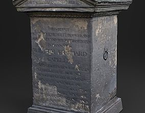 realtime 3D Scanned Tombstone - 01