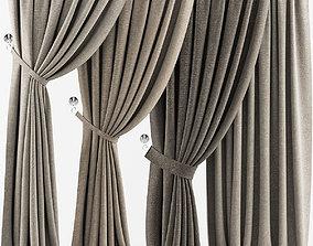 Curtains hq 3D model