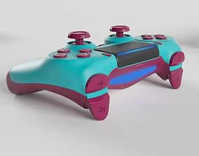 Sony PlayStation 4 DualShock Controller Berry Blue 3D