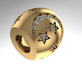 3D printable model night charm ball