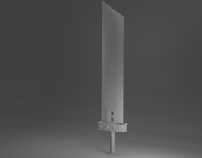 3D model FFVII Buster Sword