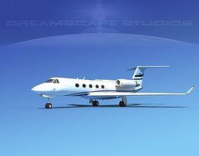Grumman Gulfstream G-V V05 3D model