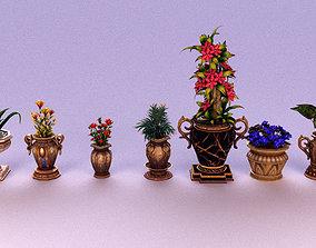Plant and Pot 3D model