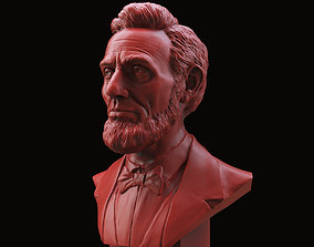 3D print model Abraham Lincoln Bust sculptures