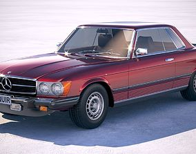 Mercedes-Benz SL USA c107 1981 3D