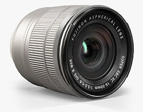 3D model Fujifilm Fujinon XC16-50mm f 3-5 5-6 OIS II Lens