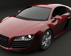 Audi R8 3d Model race