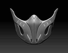 Frost mask for cosplay 2 in 1 Mortal 3D print model 2