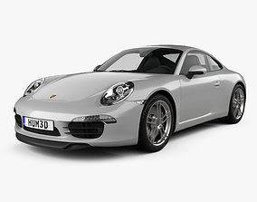Porsche 911 Carrera 4 S coupe 2012 3D model