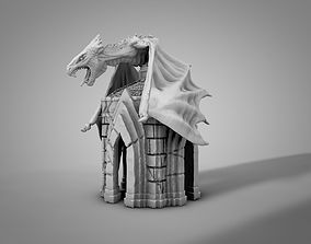 3D printable model Dragon crypt