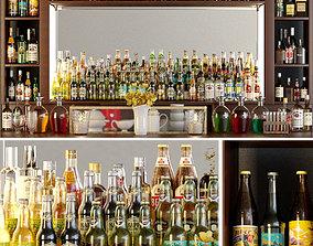 3D model Big bar 5 Alcohol