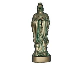 Confucius 3D model