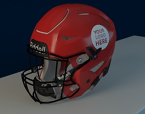 Riddell Speedflex helmet 3D model