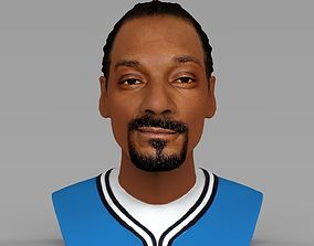 Snoop Dogg bust ready for full color 3D printing