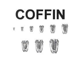 Diamond - Coffin 3D printable model