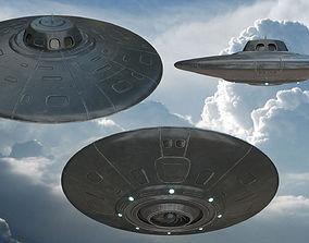 3D model UFO Spaceship
