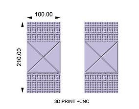 Decorative panel AND DOOR OO3 3D printable model
