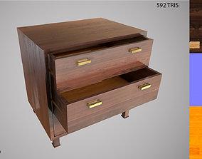 3D asset Low Poly Dresser PBR