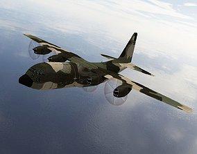 3D asset VR / AR ready Lockheed C130 Hercules